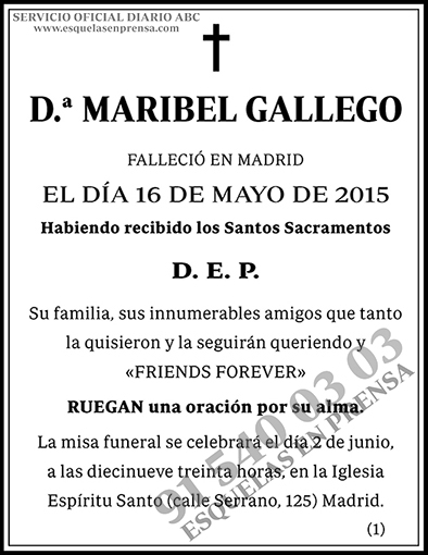 Maribel Gallego